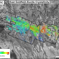 East Goldfield Alunite Crystallinity