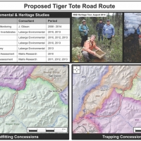 Proposed Rau Trend - Tiger Tote Road Studies